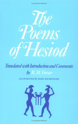 Poems of Hesiod  N/A edition cover
