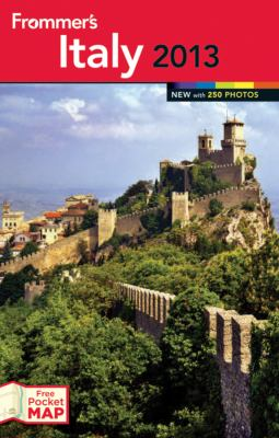 Frommer's Italy 2013  8th 2012 edition cover