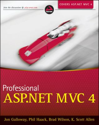 Professional ASP. NET MVC 4   2012 edition cover