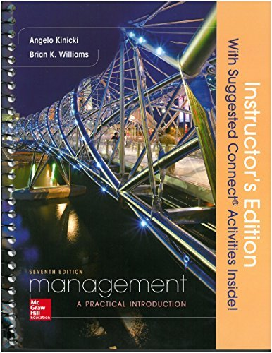 MANAGEMENT:PRACTICAL INTRO.>INSTRS.ED<  N/A 9781259593468 Front Cover