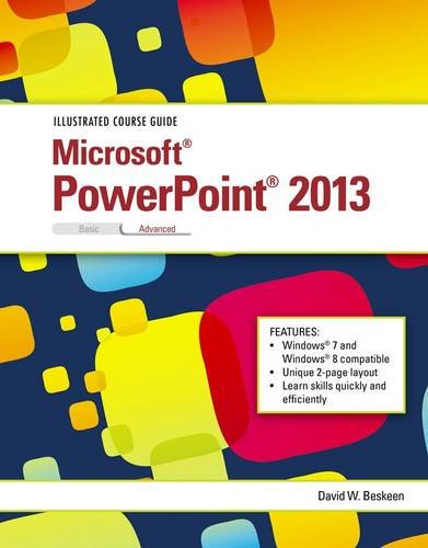 Illustrated Course Guide Microsoft PowerPoint 2013 Advanced  2014 9781285093468 Front Cover