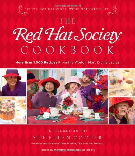 Red Hat Society Cookbook   2006 9781401602468 Front Cover