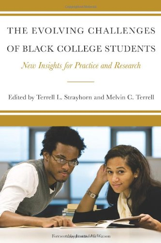 Evolving Challenges of Black College Students New Insights for Practice and Research  2010 edition cover