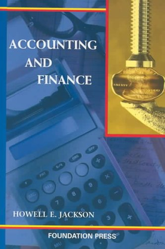 Accounting and Finance   2004 edition cover