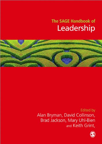 SAGE Handbook of Leadership   2011 9781848601468 Front Cover