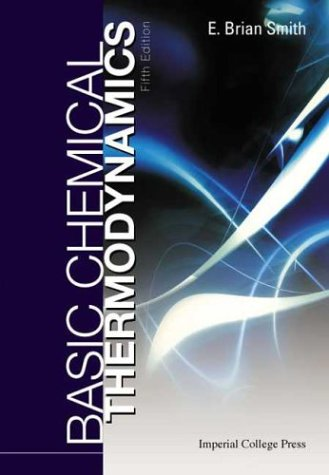 Basic Chemical Thermodynamics  5th 2004 edition cover