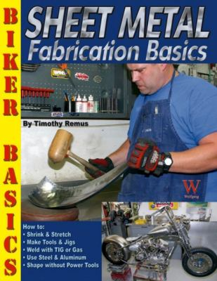 Sheet Metal Fabrication Basics   2013 9781929133468 Front Cover