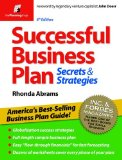 Successful Business Plan Secrets and Strategies 6th 9781933895468 Front Cover