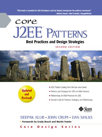 Core J2EE Patterns Best Practices and Design Strategies 2nd 2003 (Revised) edition cover