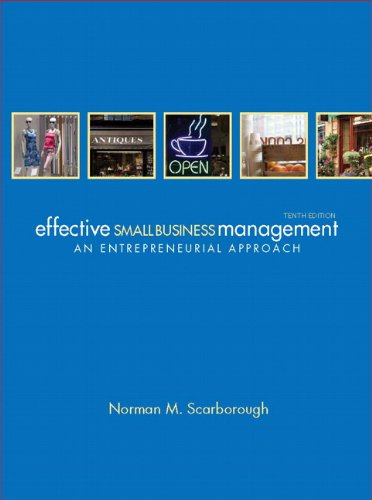 Effective Small Business Management  10th 2012 (Revised) edition cover