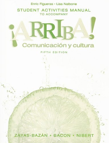 Comunicacin y Cultura  5th 2008 (Student Manual, Study Guide, etc.) edition cover