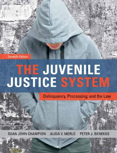 Juvenile Justice System Delinquency, Processing, and the Law 7th 2013 (Revised) edition cover