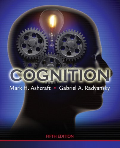 Cognition  5th 2010 edition cover