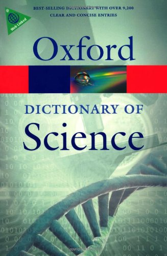 Dictionary of Science  6th 2010 edition cover