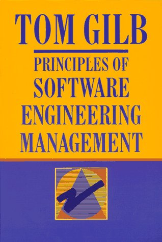 Principles of Software Engineering Management   1988 edition cover