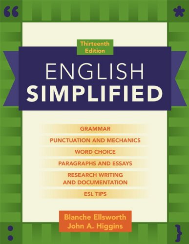 English Simplified  13th 2013 (Revised) edition cover