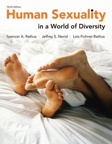 Human Sexuality in a World of Diversity  9th 2014 edition cover
