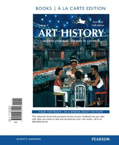 Art History Volume 2, Books Al a Carte Plus NEW MyArtsLab with EText -- Access Card Package  5th 2014 edition cover