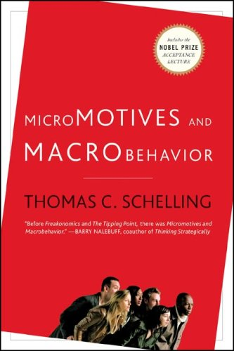 Micromotives and Macrobehavior   2006 edition cover