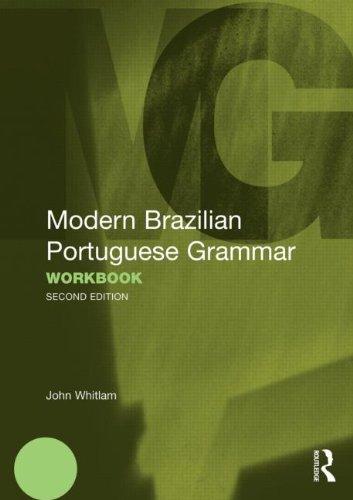 Modern Brazilian Portuguese Grammar Workbook   2011 edition cover