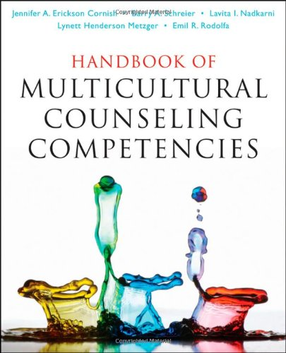 Handbook of Multicultural Counseling Competencies   2010 edition cover