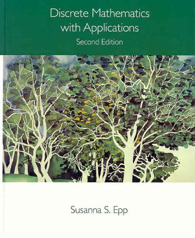 Discrete Mathematics with Applications  2nd 1995 edition cover