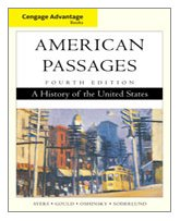 American Passages A History of the United States 4th 2010 9780547166469 Front Cover
