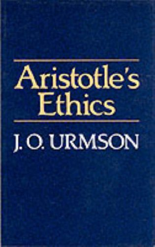 Aristotle's Ethics   1988 edition cover