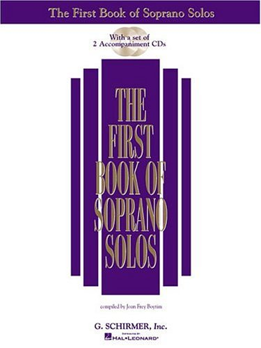First Book of Soprano Solos  N/A 9780634020469 Front Cover