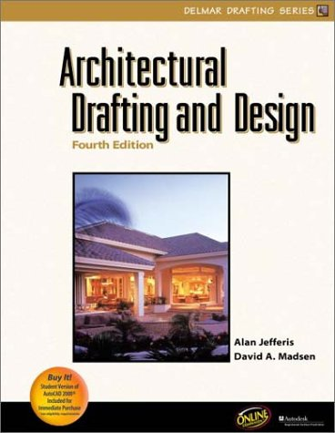Architectural Drafting and Design  4th 2001 (Revised) edition cover