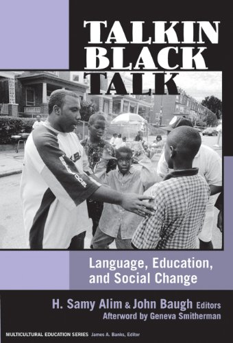 Talkin Black Talk Language, Education, and Social Change  2007 edition cover