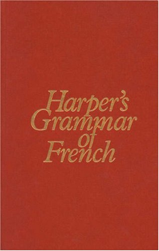 Harper's Grammar of French  1st 1983 edition cover