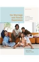 Marriage and Family Experience Intimate Relationships in a Changing Society 12th 2014 9781133597469 Front Cover