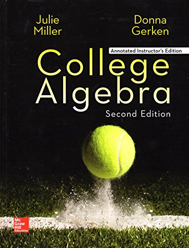 College Algebra  2nd 2017 9781259570469 Front Cover