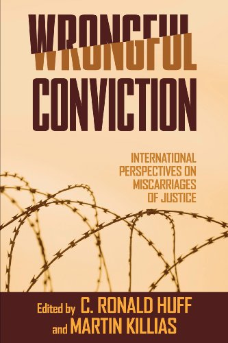 Wrongful Conviction International Perspectives on Miscarriages of Justice  2010 edition cover