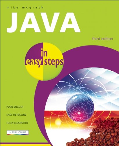 Java in Easy Steps  3rd 2008 edition cover