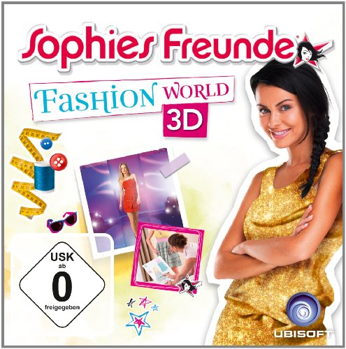Sophies Freunde - Fashion World 3D Nintendo 3DS artwork