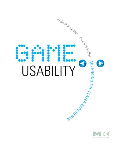 Game Usability Advancing the Player Experience  2008 edition cover
