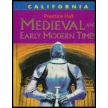 Medieval and Early Modern Times   2005 9780131817470 Front Cover