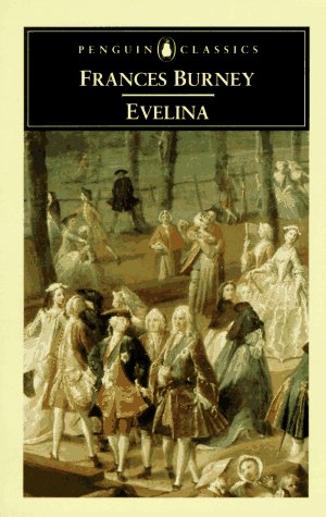 Evelina Or the History of a Young Lady's Entrance into the World  2004 edition cover