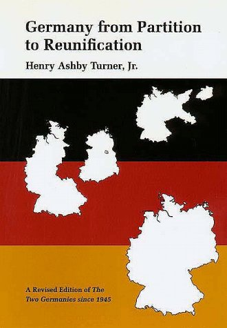 Two Germanies since 1945  2nd 1992 (Revised) edition cover