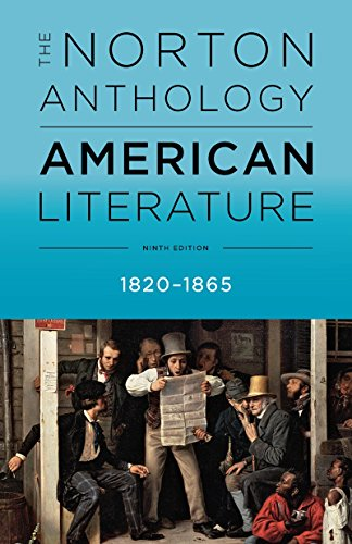 The Norton Anthology of American Literature: 1820-1865  2016 9780393264470 Front Cover
