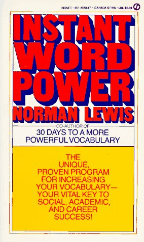 Instant Word Power  N/A edition cover