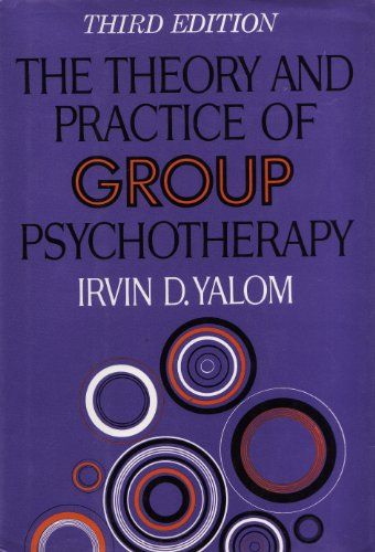 Theory and Practice of Group Psychotherapy  3rd edition cover