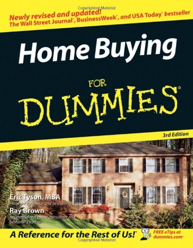 Home Buying for Dummies  3rd 2006 (Revised) edition cover