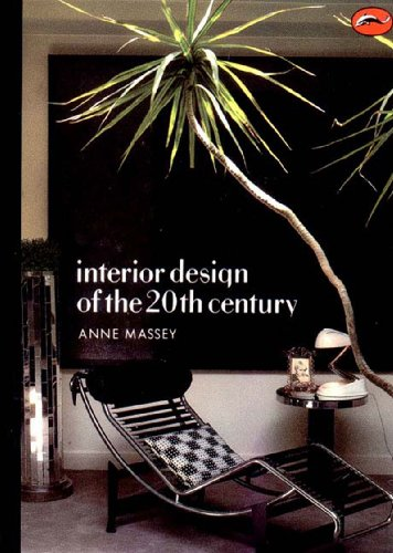 Interior Design of the 20th Century   1990 9780500202470 Front Cover