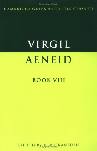 Virgil The Aeneid  1976 9780521290470 Front Cover