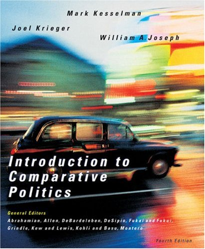 Introduction to Comparative Politics Political Challenges and Changing Agendas 4th 2007 edition cover