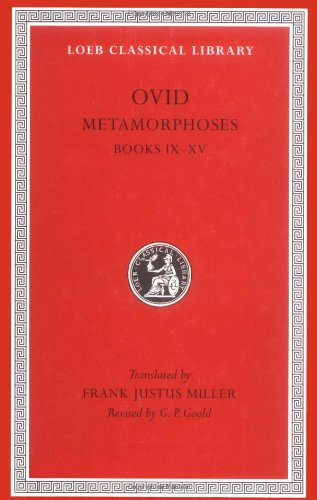 OVID Metamorphoses 2nd 1916 edition cover