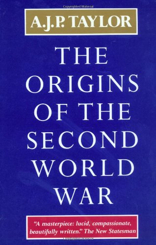 Origin of the Second World War   1996 edition cover